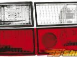 Задние фары для Volkswagen Corrado 88-96 Design red/crystal
