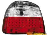 Задняя оптика на Volkswagen Golf 3 93-98 Красный/Кристалл 3