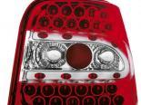 Задние фонари на Volkswagen Golf 4 99-06 Красный/Кристалл 2
