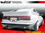 Задний бампер на Toyota Corolla 1984-1987 JB