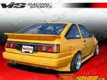 Аэродинамический Обвес на Toyota Corolla 1984-1987 JB