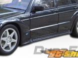Накладки на двери на Mercedes W124 86-95 EVO-2 Duraflex