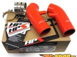 HPS Reinforced Silicone Post MAF Air Intake Hose Красный Nissan 350Z 3.5L 07-08