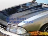 Карбоновый капот для Ford Mustang 87-93 Spyder-3 Стиль