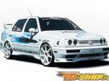 Левый порог CUSTOM Стиль на Volkswagen Jetta Golf 1993-1998