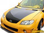 Вставка на капот для Mazda Protege1999-2003 MP3 Стиль