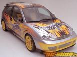 Передний бампер на Ford Focus 2000-2004 HW