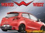 Пороги для Mazda 2 2009-2009 KOOL Правый