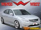 Пороги на Hyundai Elantra 2009-2009 FUZION Левый