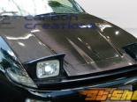Карбоновый капот на Toyota Celica 90-93 Track Стиль
