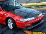 Карбоновый капот VIS Racing стандартный Стиль на Acura Integra 90-93