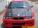 Карбоновый капот для BMW 1992-1998 E36 стандартный Стиль