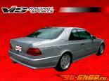 Аэродинамический Обвес для Mercedes W140 1992-1999 Euro Tech