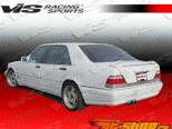 Пороги на Mercedes W140 1992-1999 Laser DP