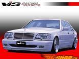 Пороги для Mercedes W140 1992-1999 VIP