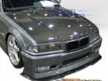 Карбоновый капот на BMW 92-98 стандартный Стиль