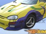 Передний бампер на Mazda MX-3 92-95 Buddy Club 2 Duraflex