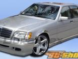 Пороги на Mercedes W140 92-99 W-1 Duraflex