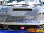 Карбоновый капот стандартный на Subaru Impreza 1993-2001