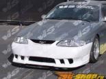 Передний бампер на Ford Mustang 1994-1998 Stalker 3