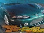 Накладка на передний бампер для Mitsubishi Eclipse 1997-1999