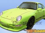 Передняя губа на Porsche 993 1995-1998 Club Sport Duraflex