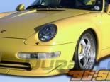 1995-1998 Porsche 993 C2/C4/Targa Club Sport Передняя губа