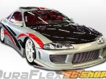 Пороги для Mitsubishi Eclipse 95-99 Kombat Duraflex