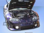 Накладка на передний бампер для Mitsubishi Eclipse 1997-1999 Type Q Duraflex