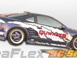 Задние накладки на крылья для Mitsubishi Eclipse 95-99 Q Flared Duraflex