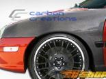 Крылья для Dodge Neon 95-99 стандартный Карбон