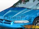 Пластиковый капот на Dodge Stratus 95-00 Spyder-3 Стиль