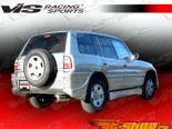 Задний бампер для Toyota RAV 4 1996-2000 Ballistix