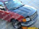 Пластиковый капот на Ford F150 1997-2003 Cobra R Стиль