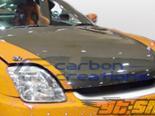 Карбоновый капот для Honda Prelude 97-01  стандартный Стиль