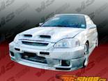 Передний бампер на Acura Integra JDM 1998-2001 Omega