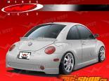 Полиуретановая губа на задний бампер JPC на Volkswagen Beetle 1998-2005