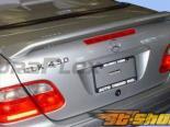 Спойлер для Mercedes W208 98-02 LR-S Duraflex