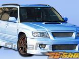 Обвес по кругу для Subaru Forester 98-02 L-Sport Duraflex