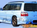 Задний бампер для Subaru Forester 98-02 L-Sport Duraflex