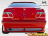 Губа на задний бампер R-1 для Mercedes CLK W208 1998-2002