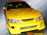 Передний бампер на Ford Mustang 1999-2004 Battle Z