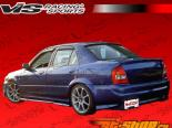Пороги EVO 2 на Mazda Protege 1999-2000