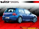Задний бампер на Volkswagen Golf 4 1999-2006 R 32