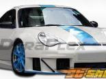 Обвес по кругу на Porsche 911 02-04 GT3 RSR Duraflex