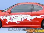 Пороги на Oldsmobile Alero 99-04 Kombat Duraflex