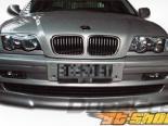 Губа на передний бампер для BMW E46 99-05 Type H Duraflex