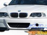 Передний бампер на BMW E46 99-06 CSL Карбон