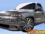 Передний бампер для Chevrolet Silverado 99-02 Lightning SE Duraflex