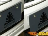 Auto Couture license plate stay 01 Texalium - Карбон Lexus GS350 07-12